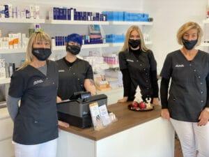 Hautpflege bei täglichem Mundschutz tragen